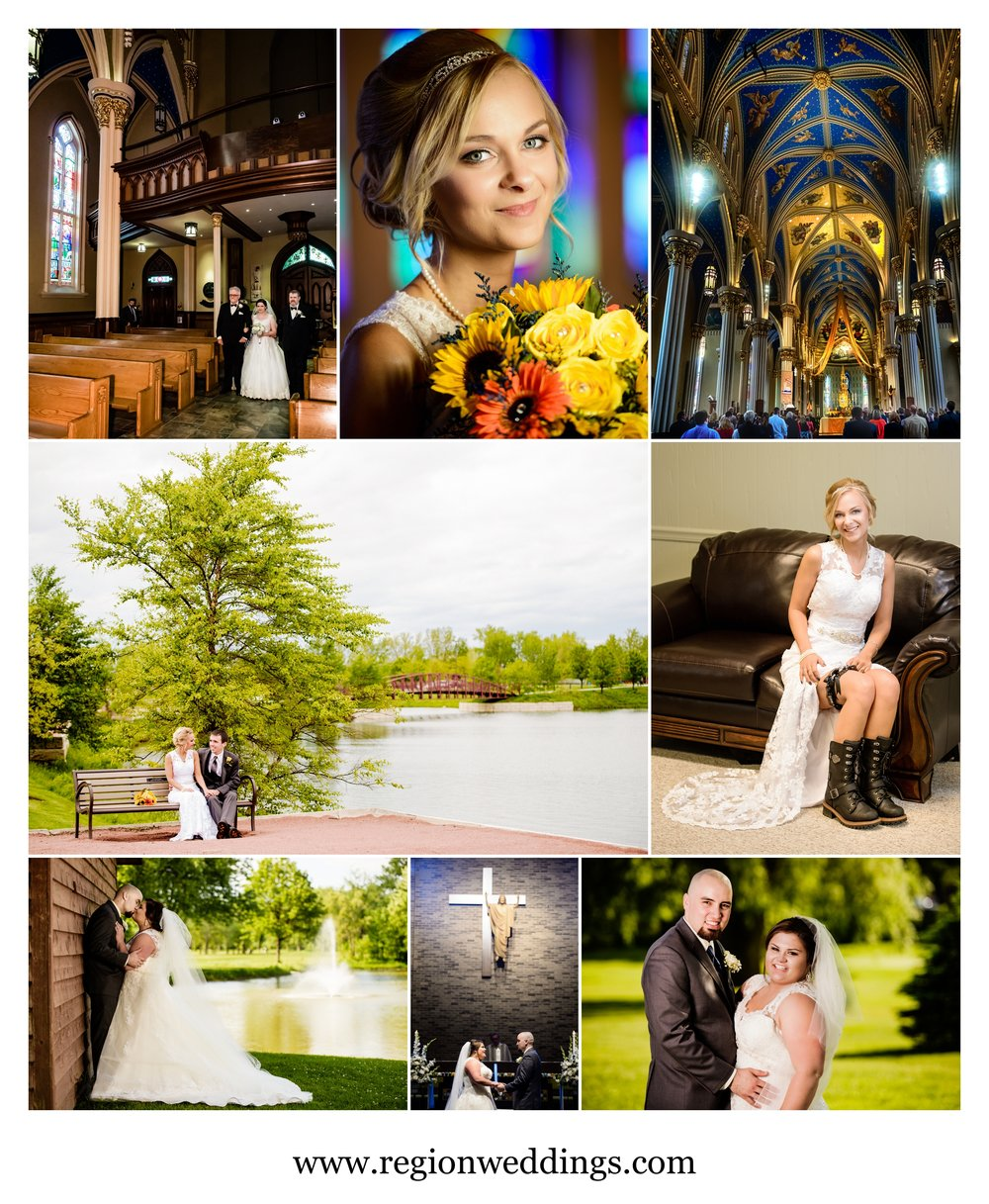 Spring weddings in Northwest Indiana in 2016.