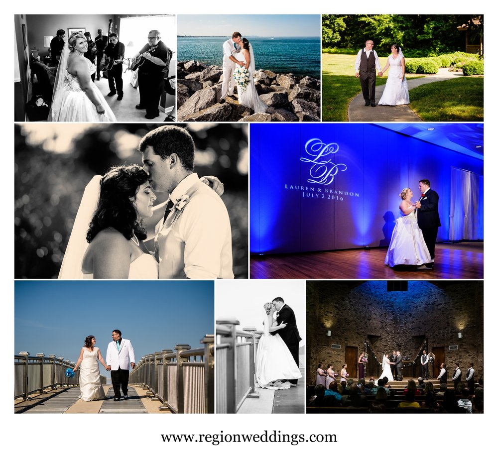 June wedding photos in Northwest Indiana during 2016.