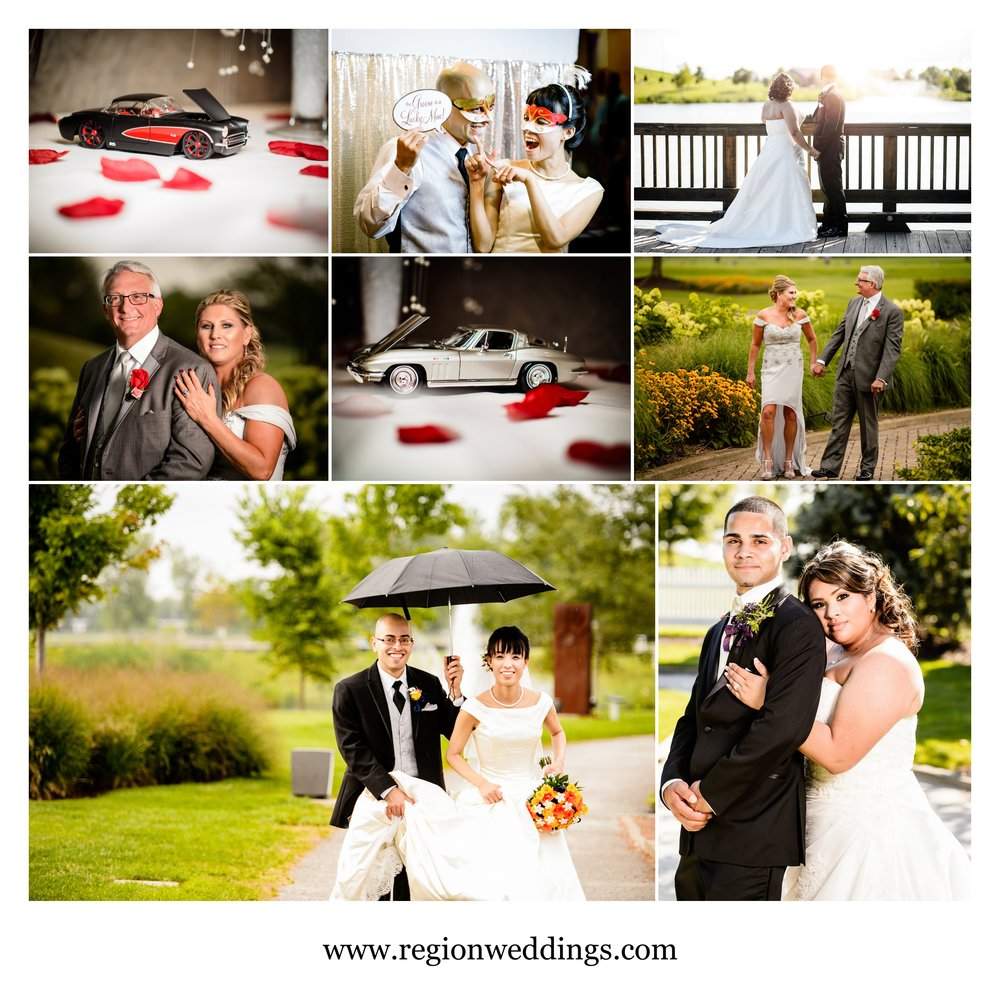 July weddings in Northwest Indiana in 2016.