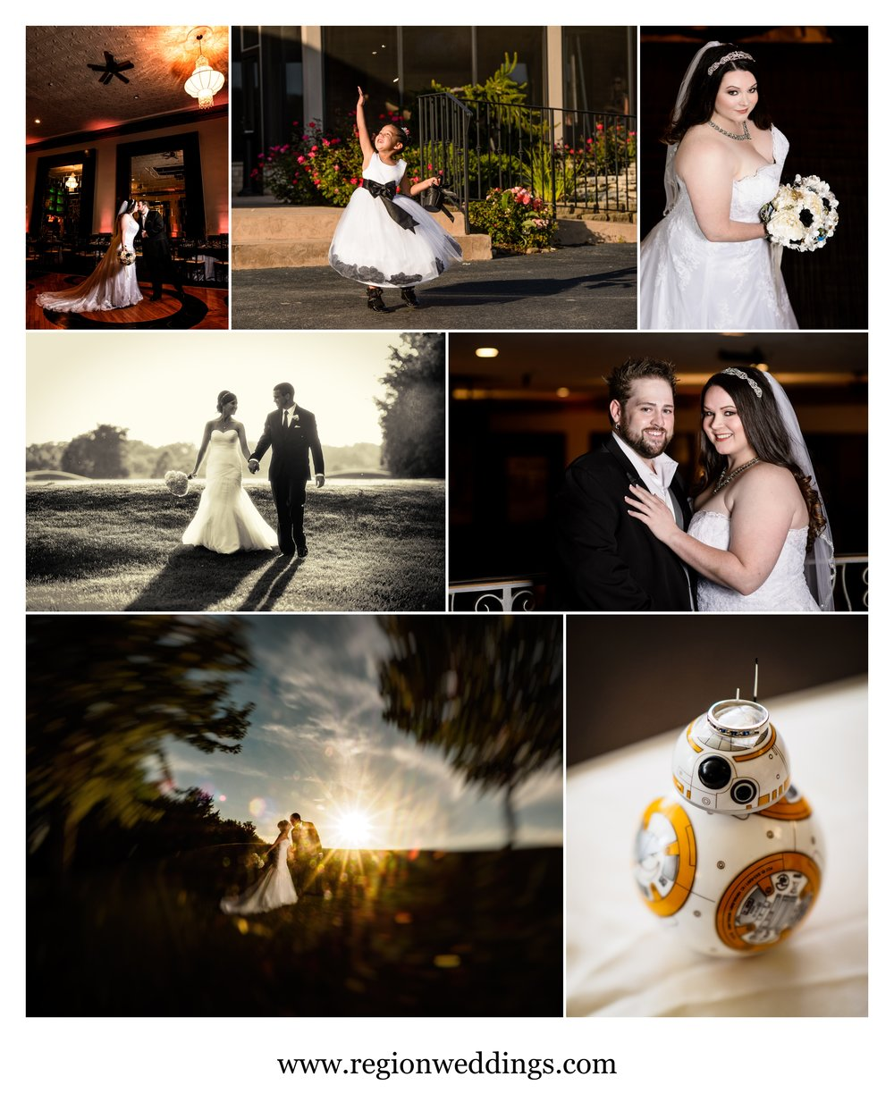 September 2016 wedding photos in Northwest Indiana.