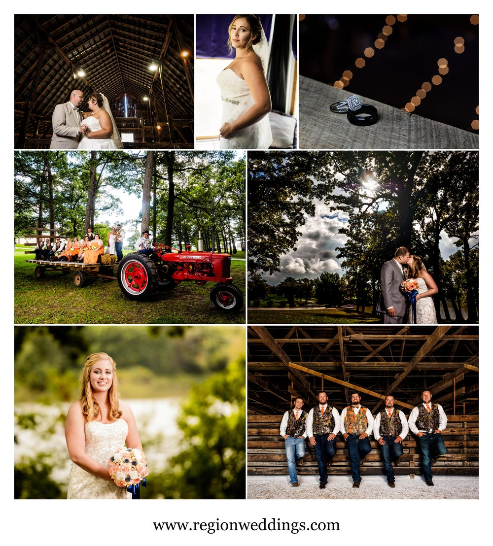 Wedding photos in Northwest Indiana in September 2016.