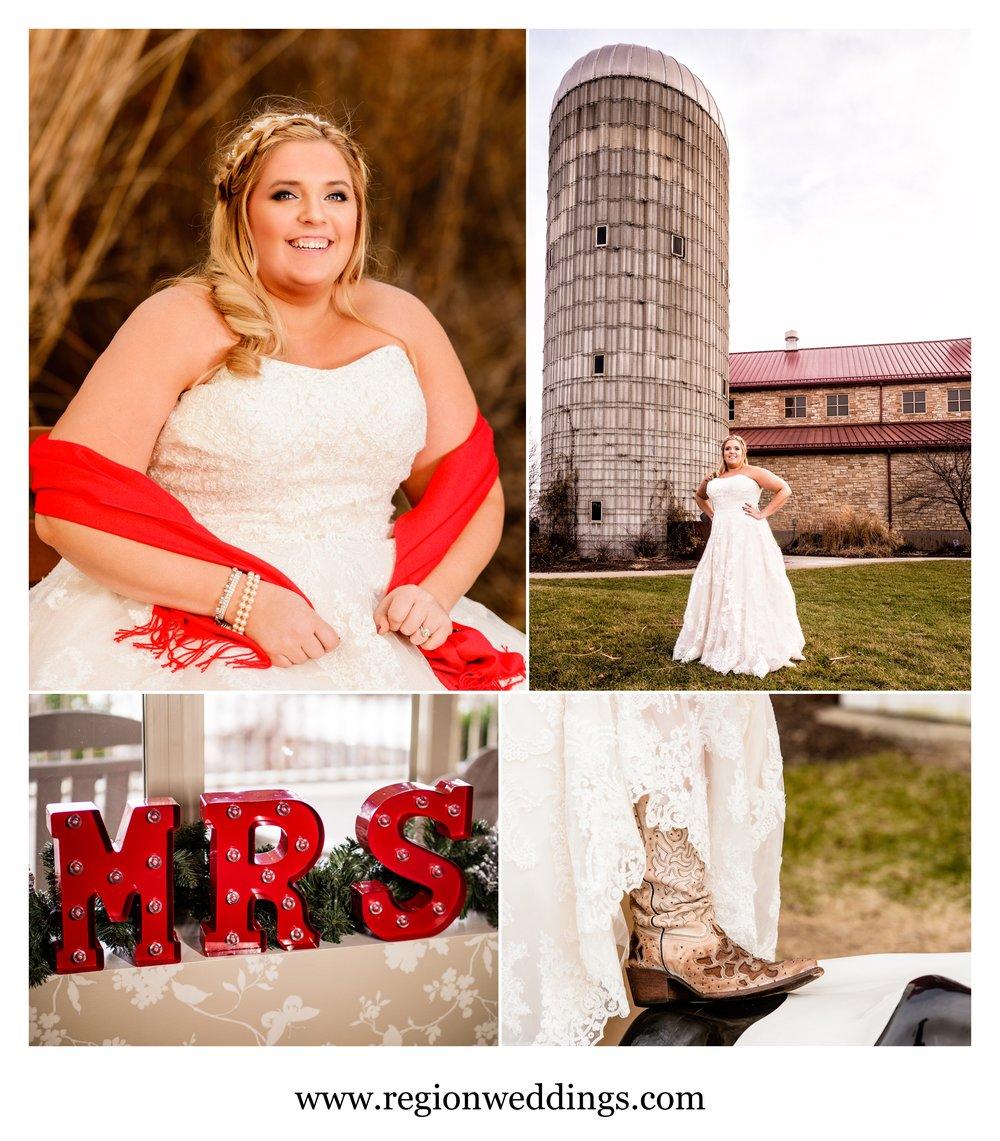 The new Mrs. Rowley at Fair Oaks Farms.