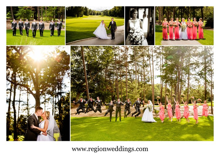 Wedding Photos At The Pavilion Sandy Pines In Demotte Indiana