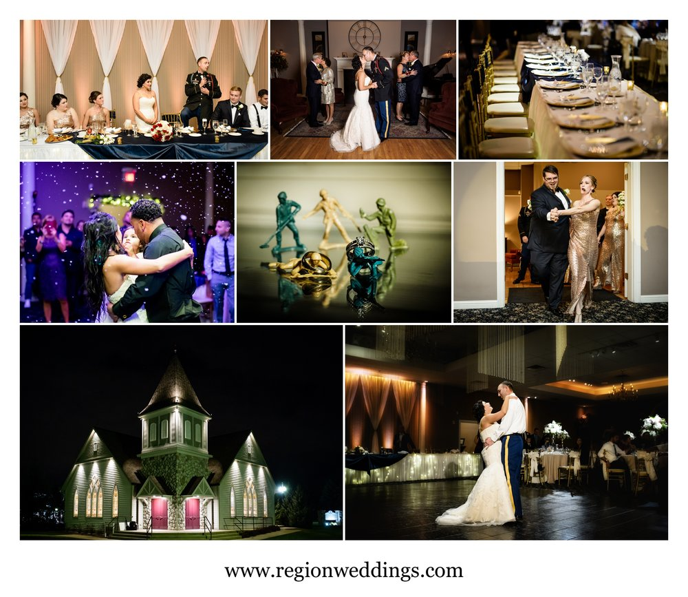 Wedding photos from Aberdeen Manor in Valparaiso, Indiana.