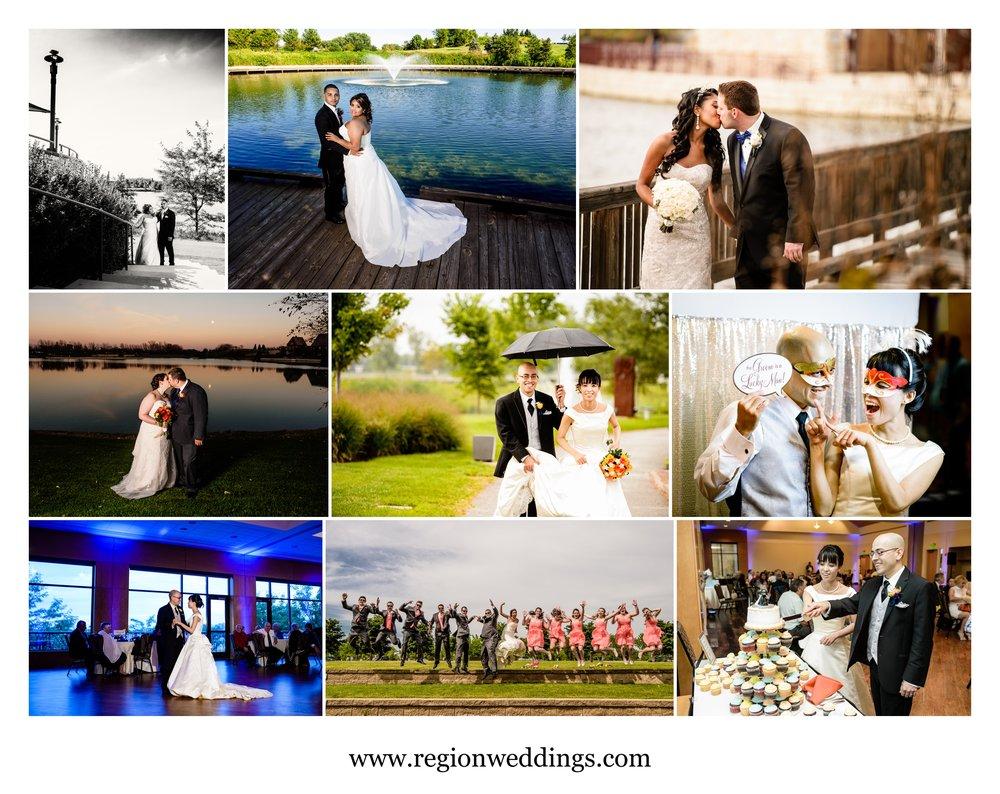Wedding photos from Centennial Park.