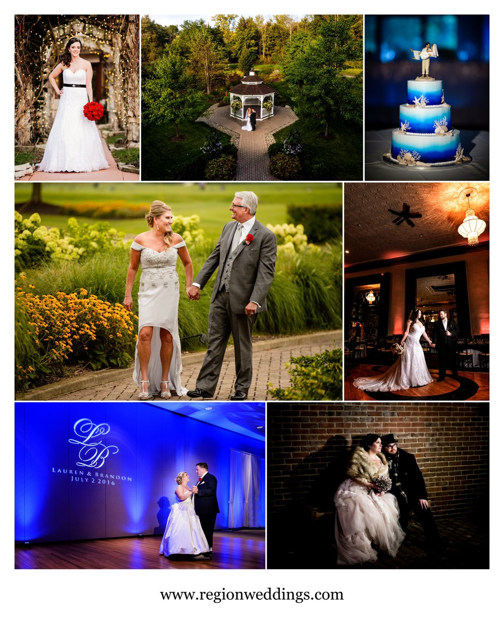 Wedding photos in Northwest Indiana.
