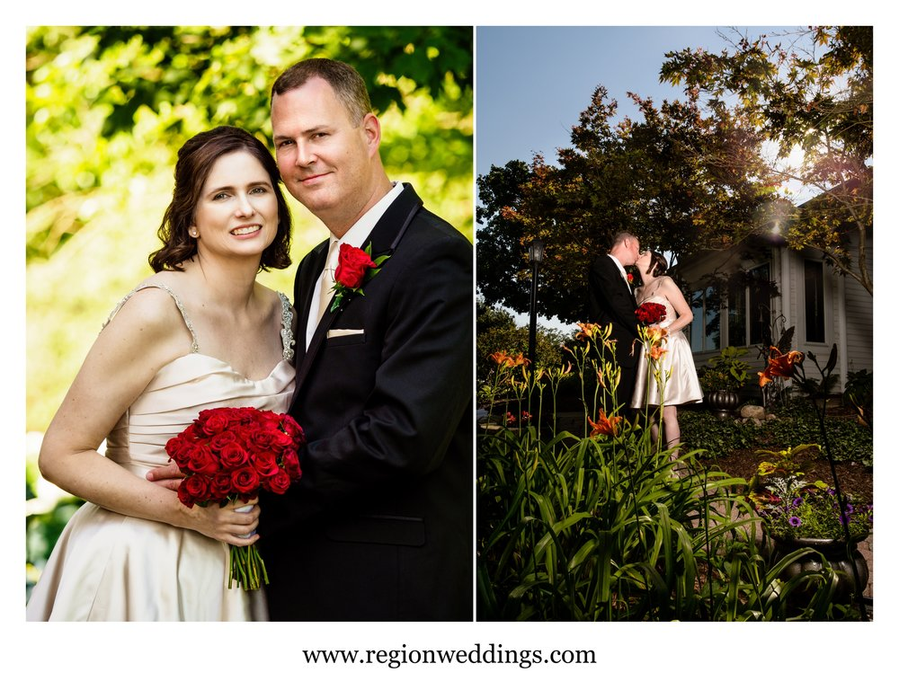 Summer wedding photos at The Inn At Aberdeen.