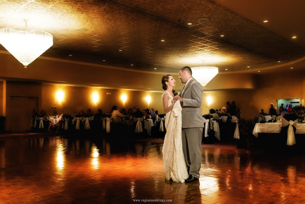 First dance at the Serbian Social Center.
