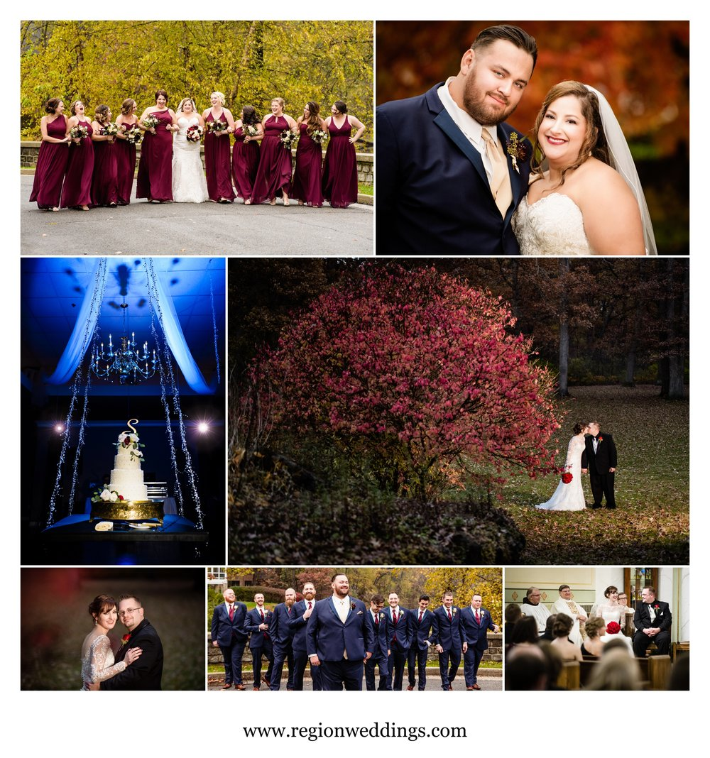 November wedding photos.