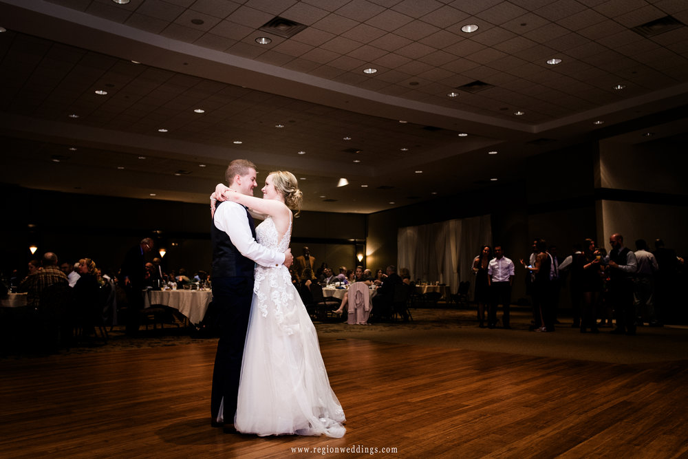 First dance at The Halls of St. George.