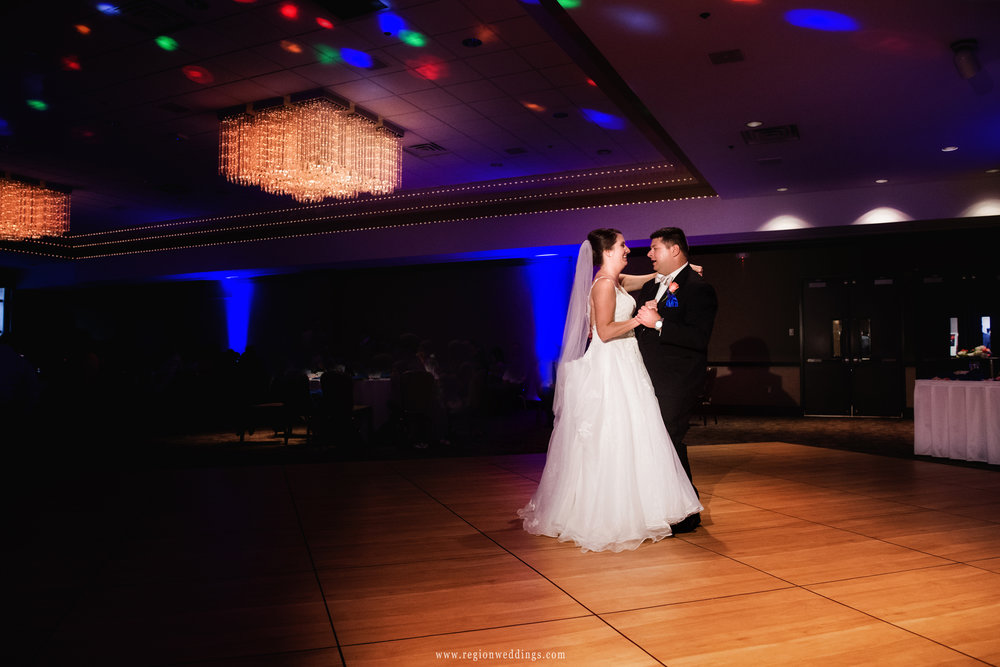 First dance at the Center for Performing Arts in Munster, Indiana.