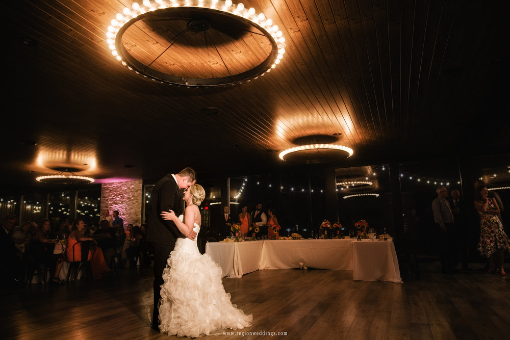 First dance at The Allure On The Lake.