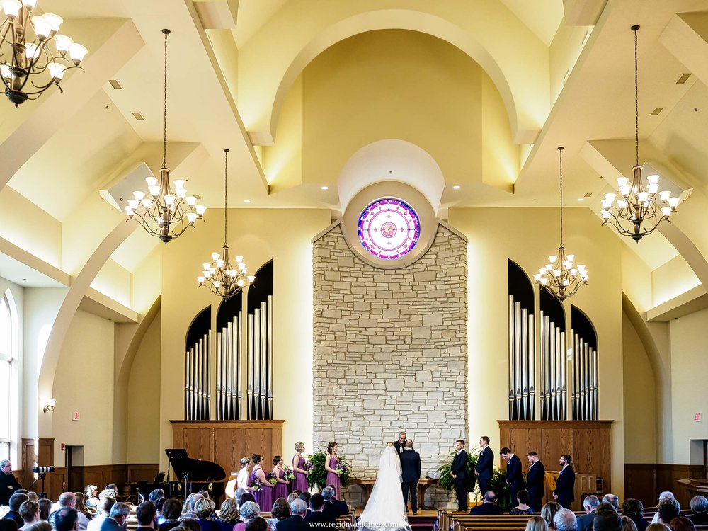 Wedding Ceremony At Faith United Reform Church