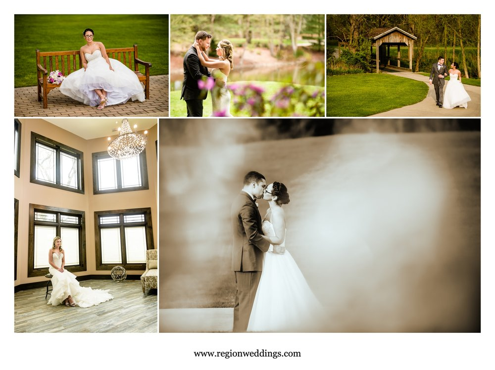 Weddings at two golf courses - Sandy Pines and Sand Creek.