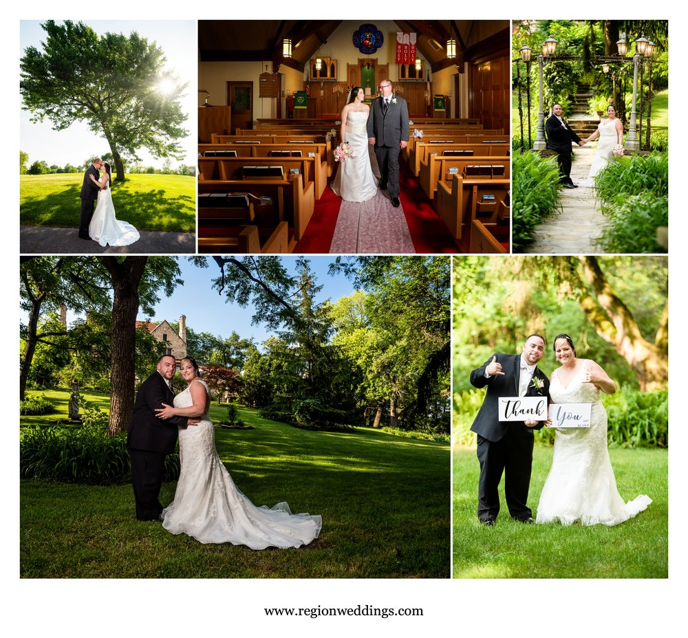 June weddings at Briar Ridge and Meyer's Castle.