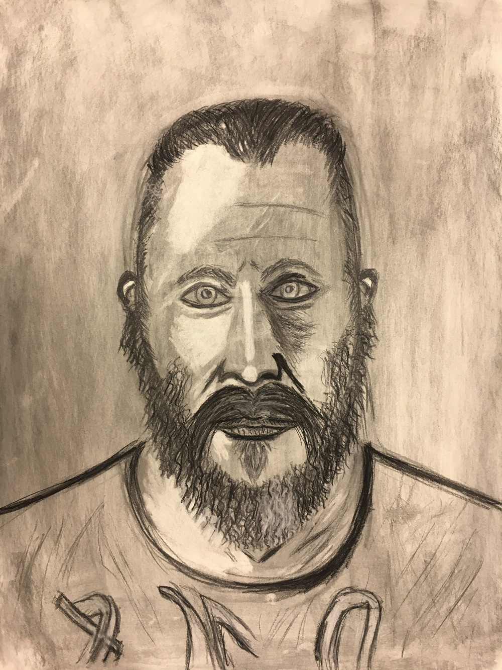 Drawing I: Self Portrait Project