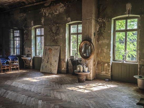 Der wunderschöne Seminarraum im Atelier Kurus bietet magisches Licht :)