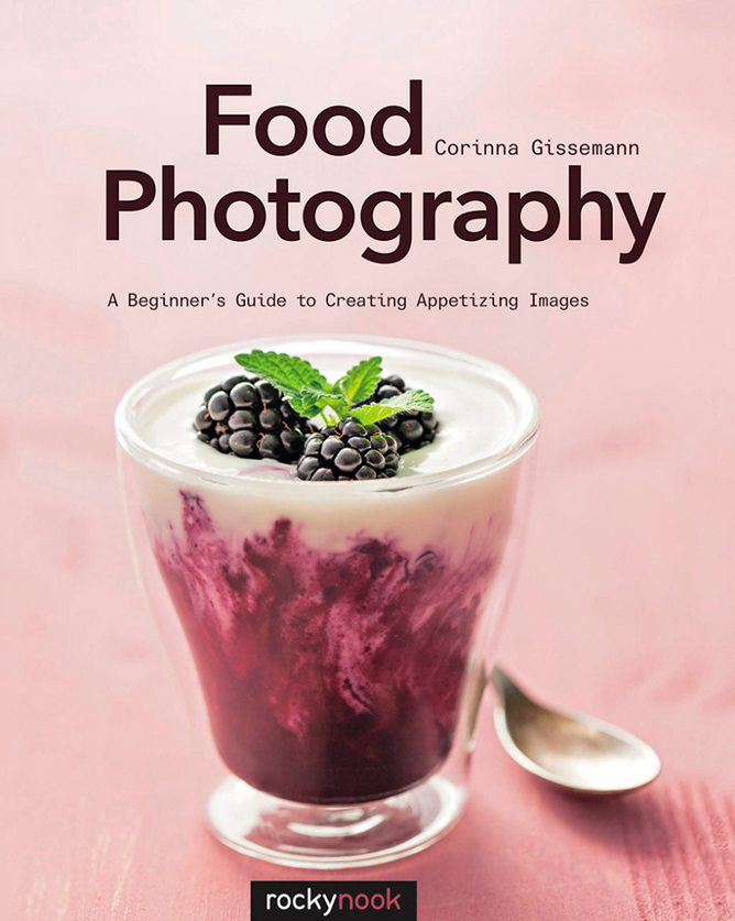 Food Photography: A Beginner´s Guide to Creating Appetizing Images - In October 2015, my first book about food photography published. If you are just starting out with food photography this book is for you. With chapters from the right equipment, light management, composition to styling props it will assist you on your way of becoming an excellent food photographer. If you are interested, you can read an excerpt from my book here. You can buy my book on Amazon or Rocky Nook.