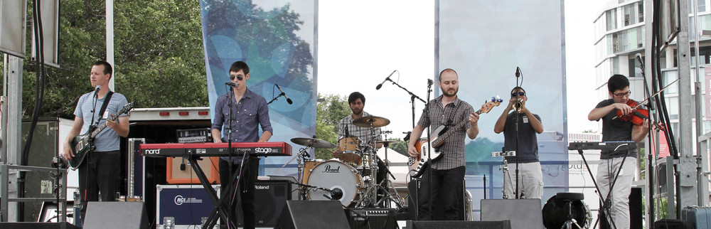 ARTSCAPE 2014, Eureka Birds at Festival Stage.  Photo Credit  William Holloway .