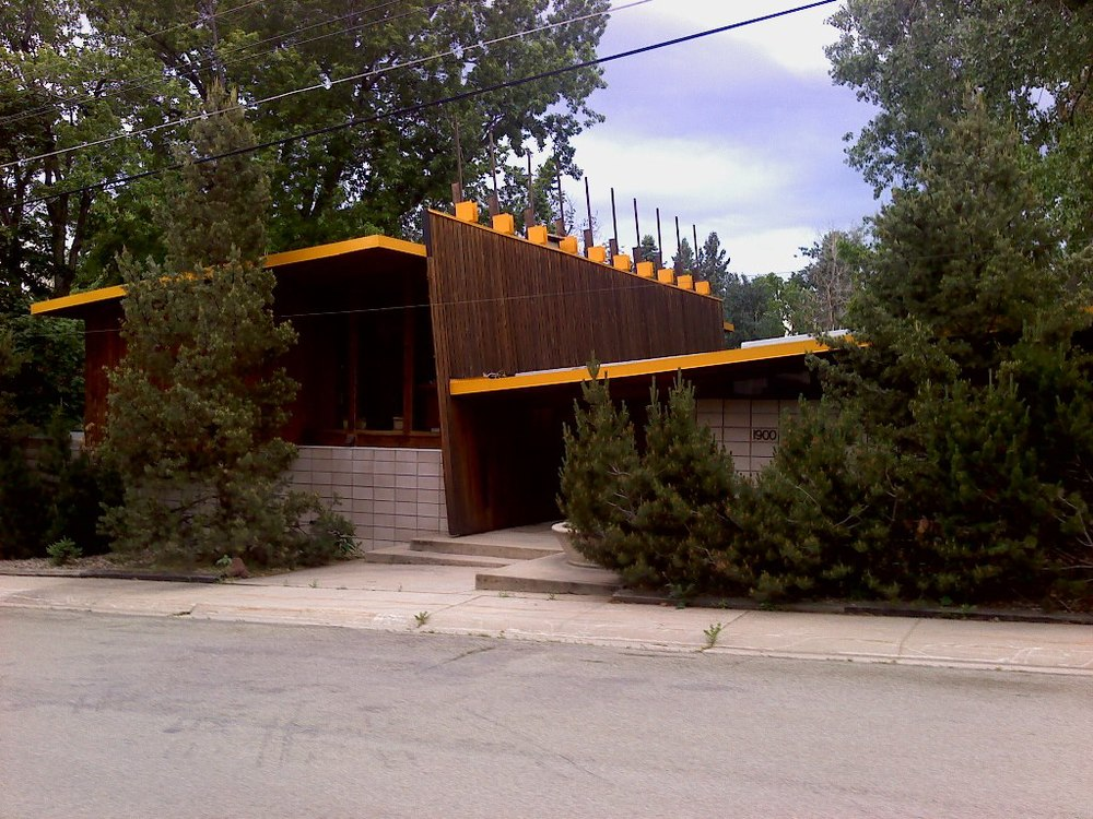 Sampson House by Tician Papachristou (Boulder, Colorado, 1958). photo © Anthony Denzer