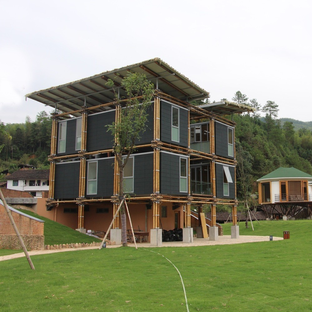 BAMBOO HOUSE, 2016 Lishui, China Studio Cardenas