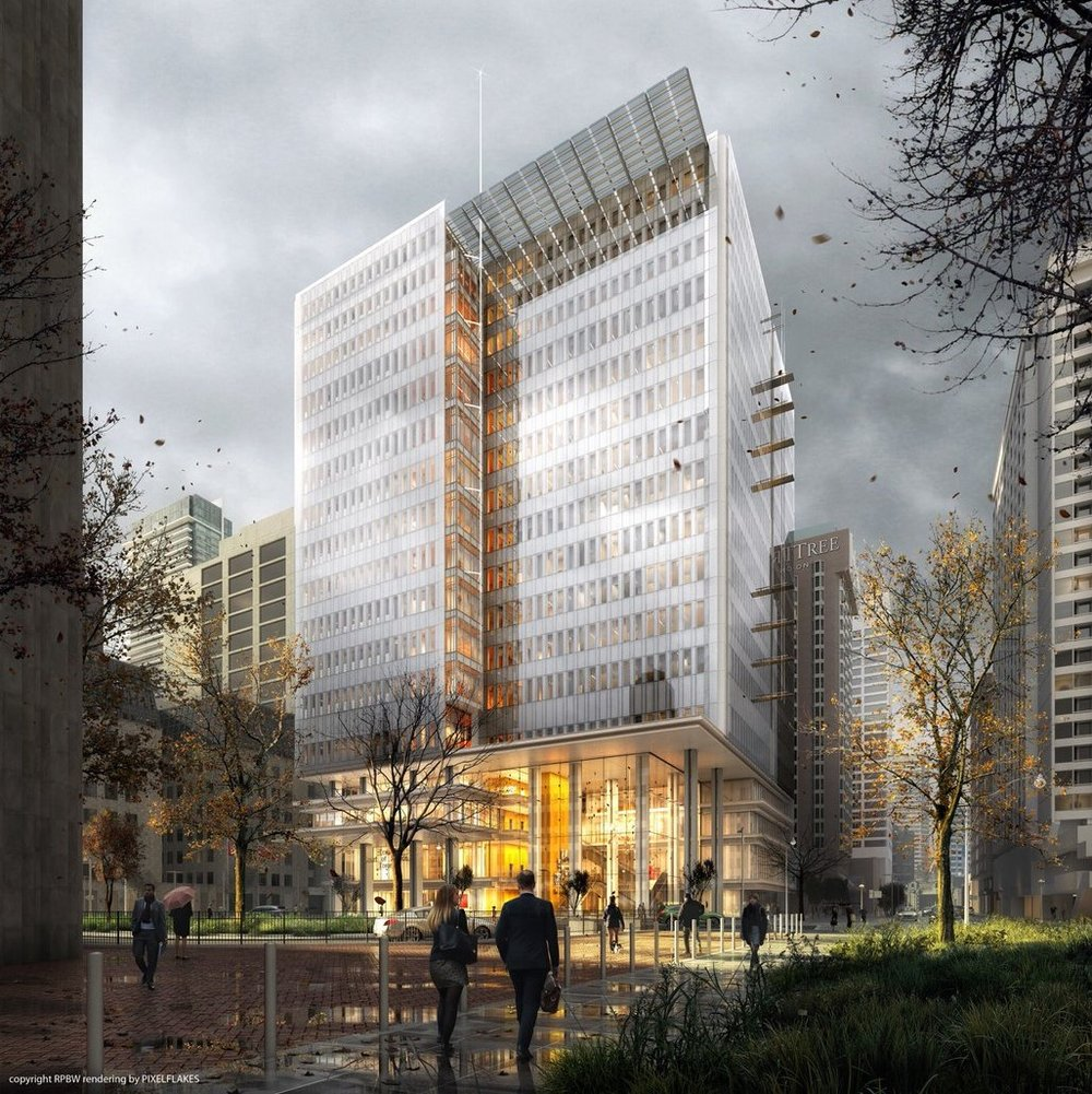 COURTHOUSE, proposed Toronto Renzo Piano Building Workshop