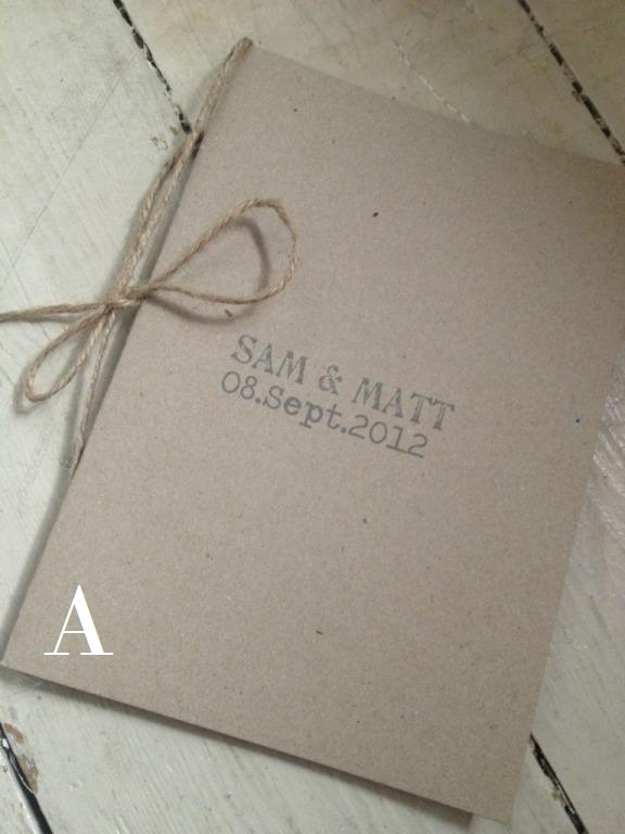 Eco Friendly Wedding Invitations with good invitation layout