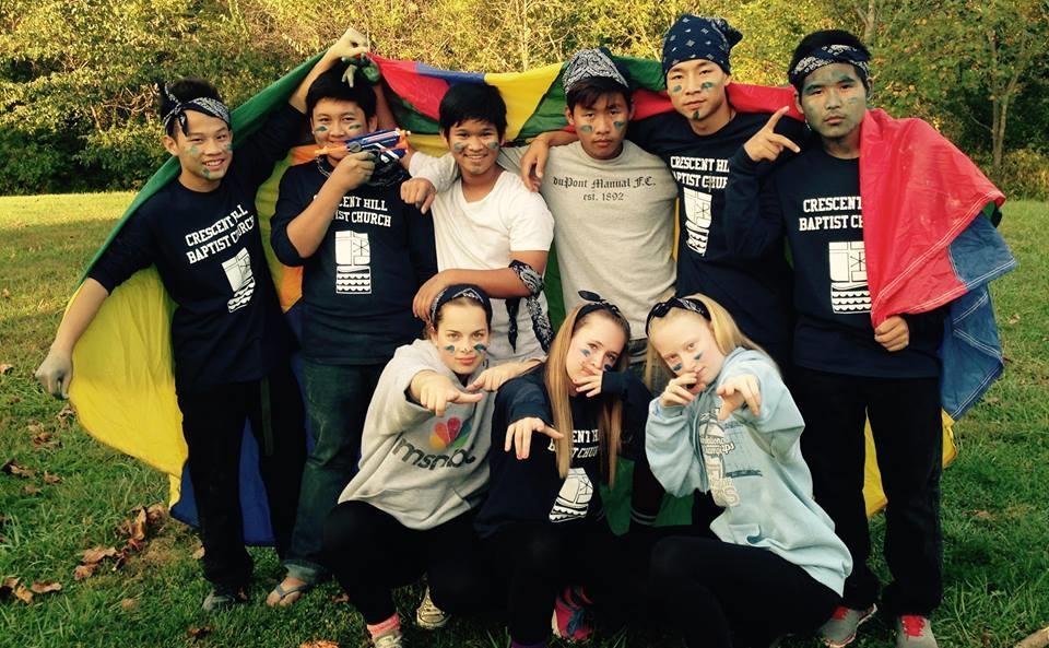 Youth Retreat - Scavenger Hunt - Blue Team