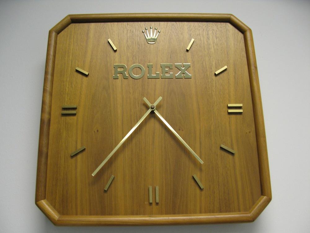 Watch Goodies The Wooden Rolex Clock Hard To Find
