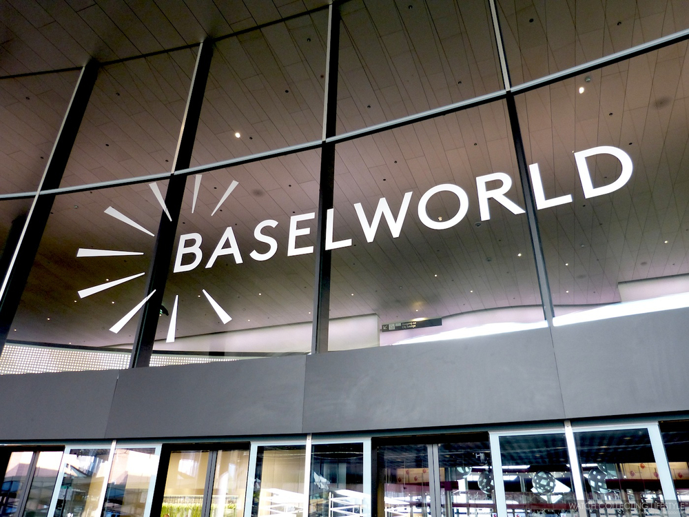 Baselworld's Exhibition Hall.