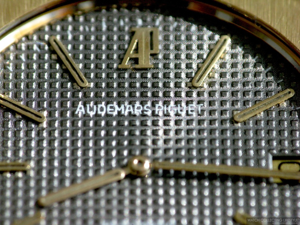 Dial Detail on Royal Oak ref. 5402 circa 1977