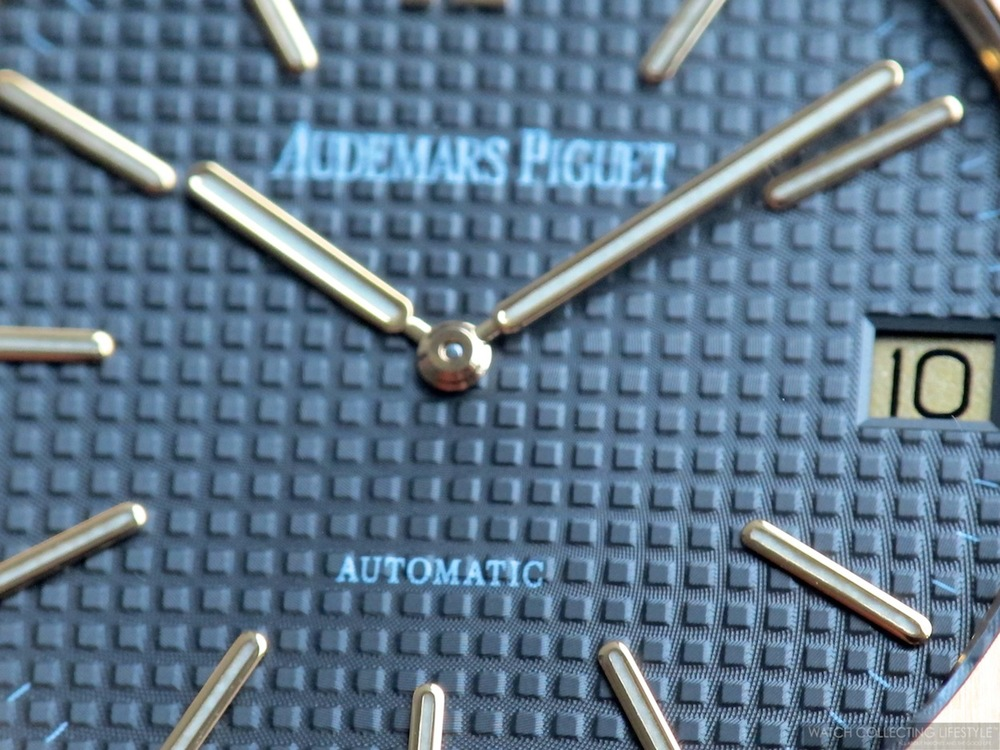 Dial Detail on Royal Oak ref. 5402 Replacement Dial Circa 2012