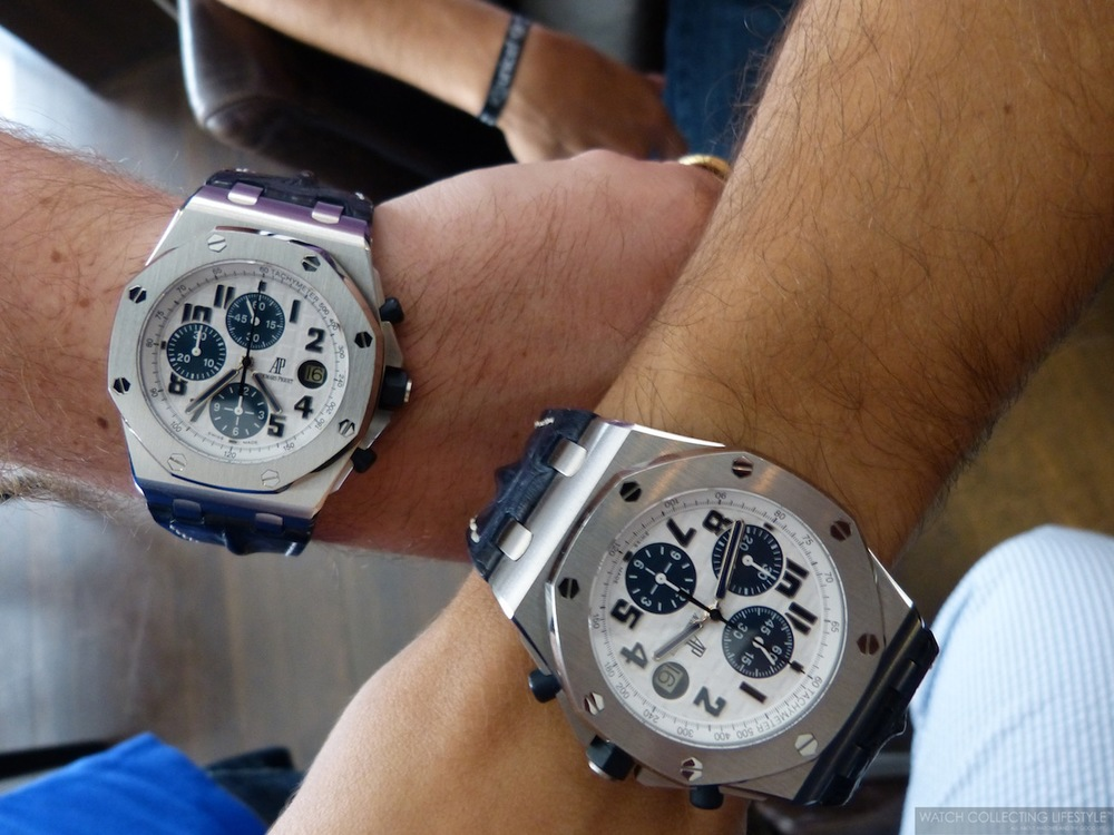 Insider audemars piguet royal oak offshore navy is it really the least popular offshore we for Royal oak offshore navy