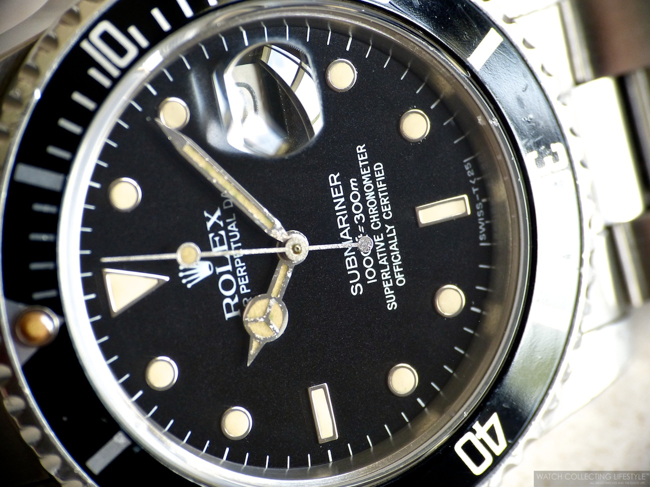 d60cb13ba50 Insider  Rolex Submariner Date ref. 16800 Late Transitional. On the Wrist  Since 1985 at Age 14. — WATCH COLLECTING LIFESTYLE