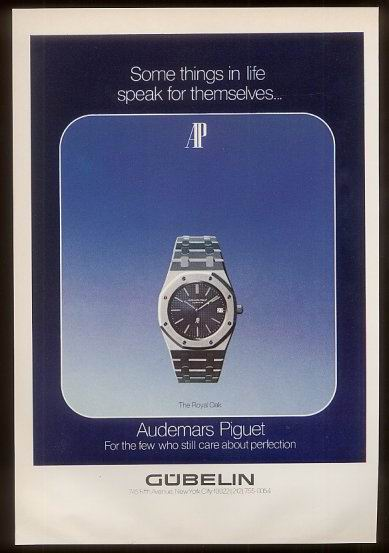 Royal Oak Advertisement circa 1974.