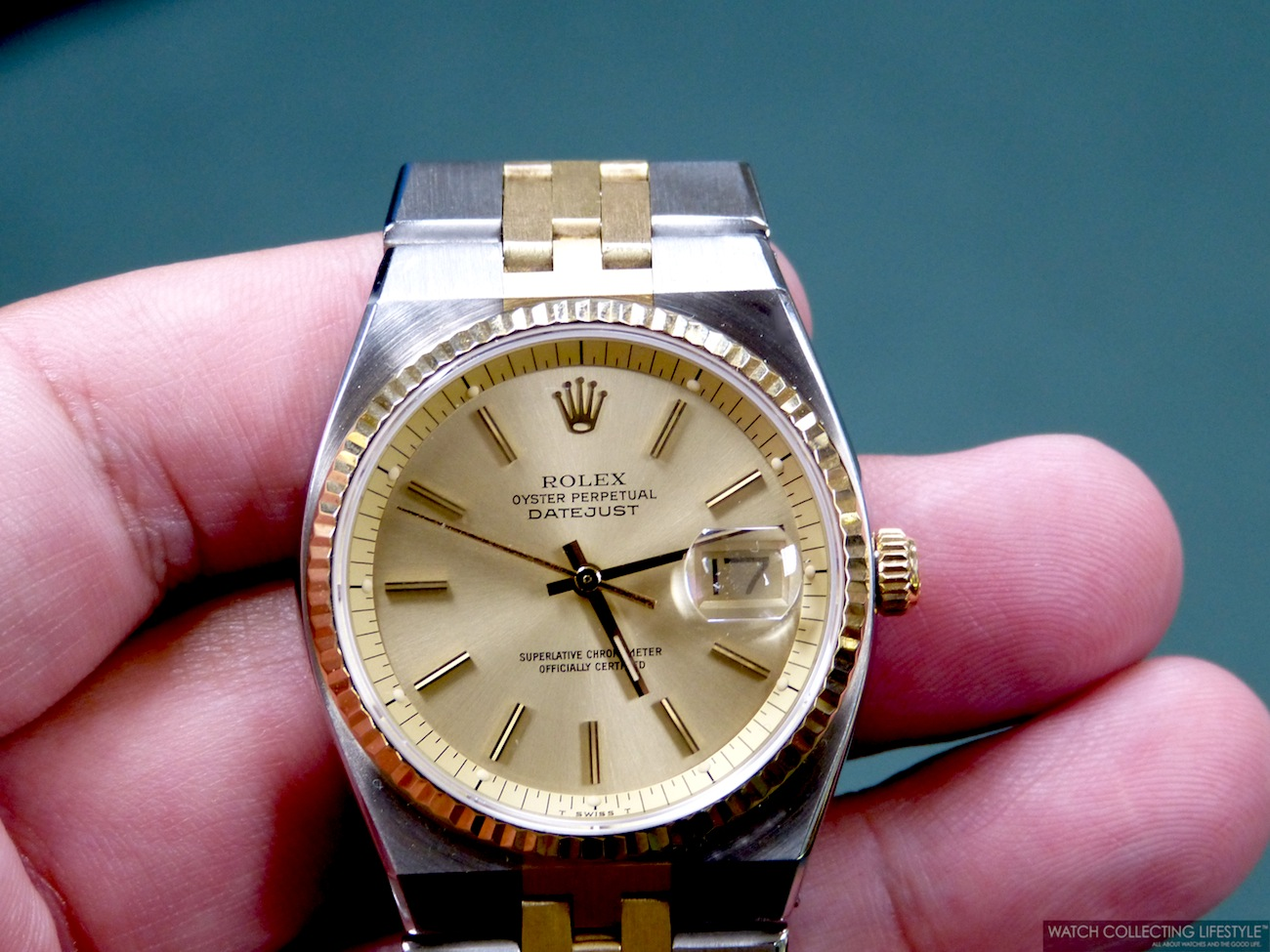 Rare Bird Rolex Oyster Perpetual Datejust Ref 1630 The Datejust