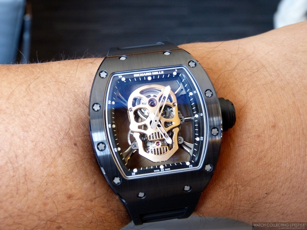 Insider Richard Mille Rm052 01 Skull Tourbillon Nano Ceramic The