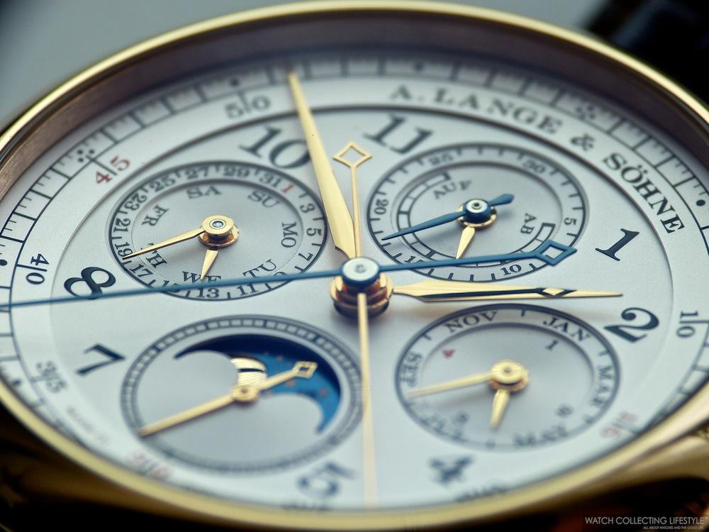 A. Lange & Söhne 1815 Rattrapante Perpetual Calendar watch replica