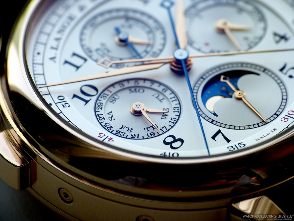 A. Lange & Söhne 1815 Rattrapante Perpetual Calendar watch