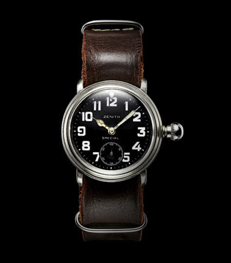 Louis Blériot's Zenith Watch. Image: Zenith Watches Website.