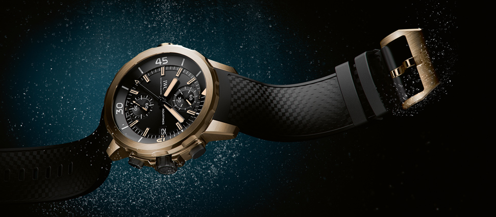 "New Aquatimer Chronograph Edition ""Expedition Charles Darwin"" Ref. IW379503"