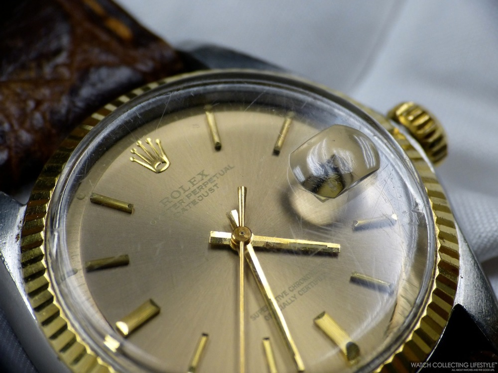 Rolex Datejust ref. 1601 with Pie Pan dial.