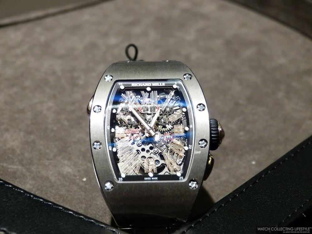 Richard Mille RM 037 Ladies on Bracelet. Sticker Price Not Confirmed Yet.