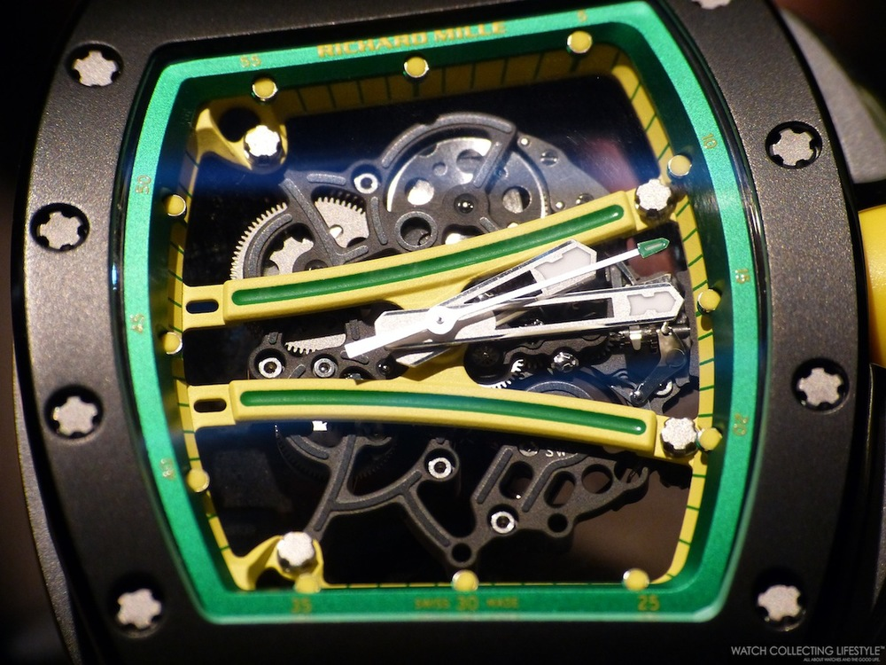 Richard Mille RM61-01 Yohan Blake. Sticker Price $120,000 USD.