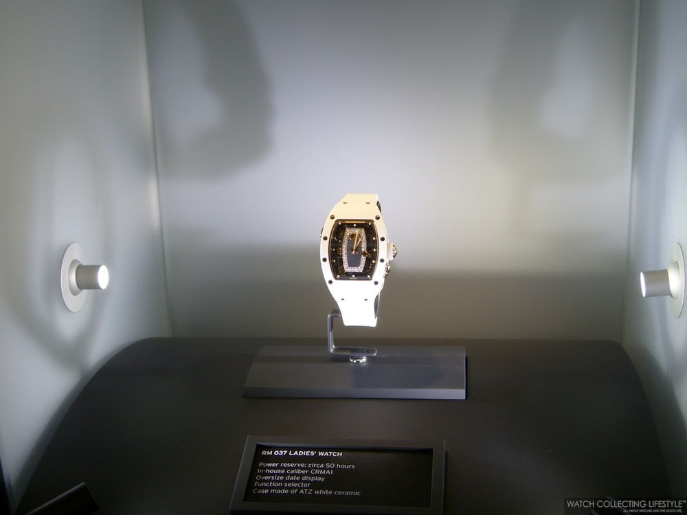 Richard Mille RM 07-01 Ladies in ATZ White Ceramic and Red Gold. Sticker Price $100,000 USD.