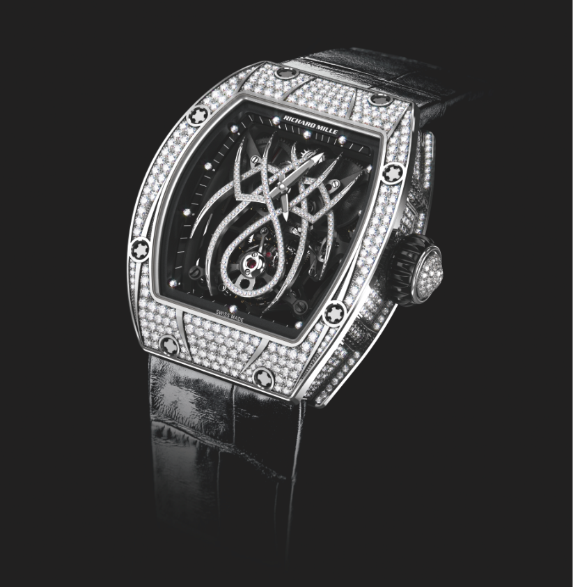 Richard Mille RM 19-01 Tourbillon Natalie Portman. Sticker Price Not Confirmed Yet.