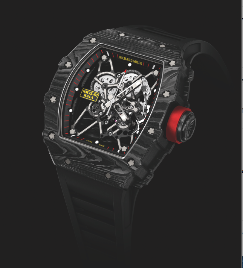 Richard Mille 35-01 Rafael Nadal. Sticker Price Not Confirmed Yet.