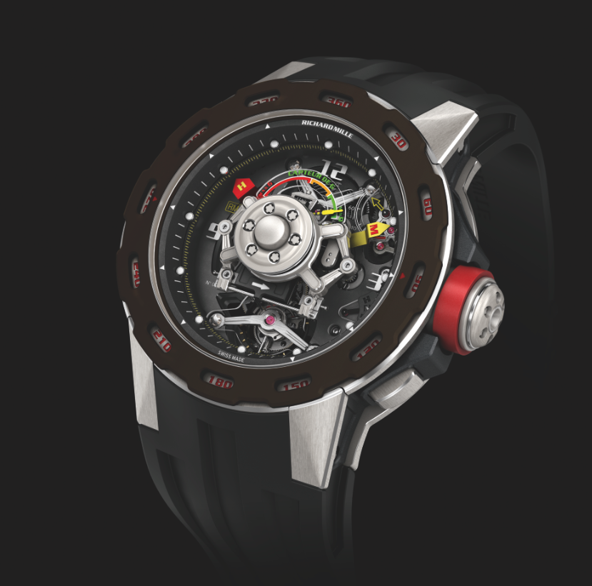 Richard Mille RM 36-01 Competition G Sensor Sebastien Loeb. Limited Edition 30 Pieces. Sticker Price $655,000 USD.