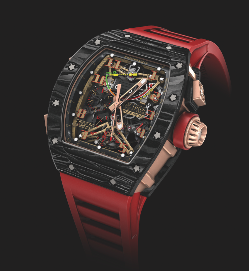 Richard Mille RM 50-01 Lotus F1 Team Romain Grosjean. Sticker Price Not Confirmed Yet.