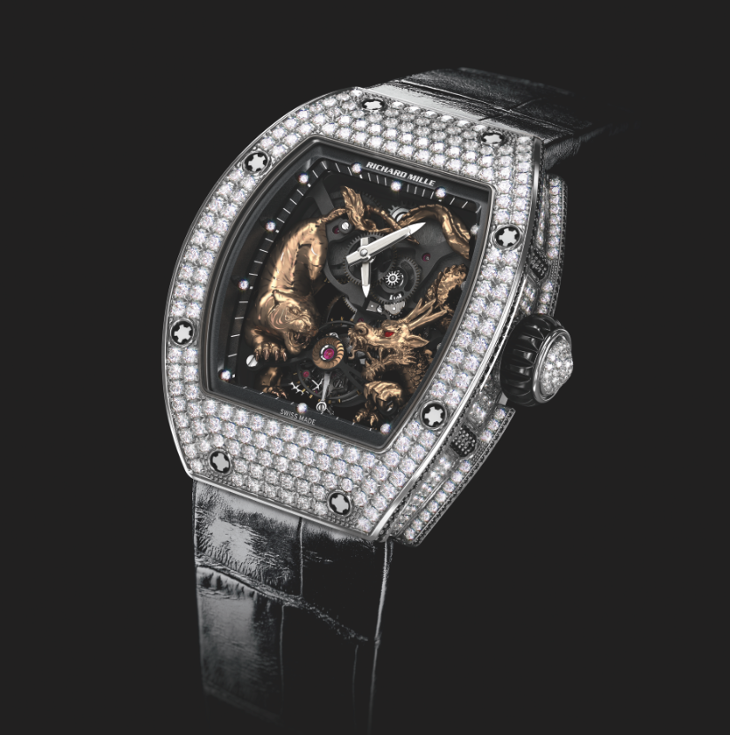 Richard Mille Rm 51-01 Tiger & Dragon Michelle Yeoh. Sticker Price Not Confirmed Yet.